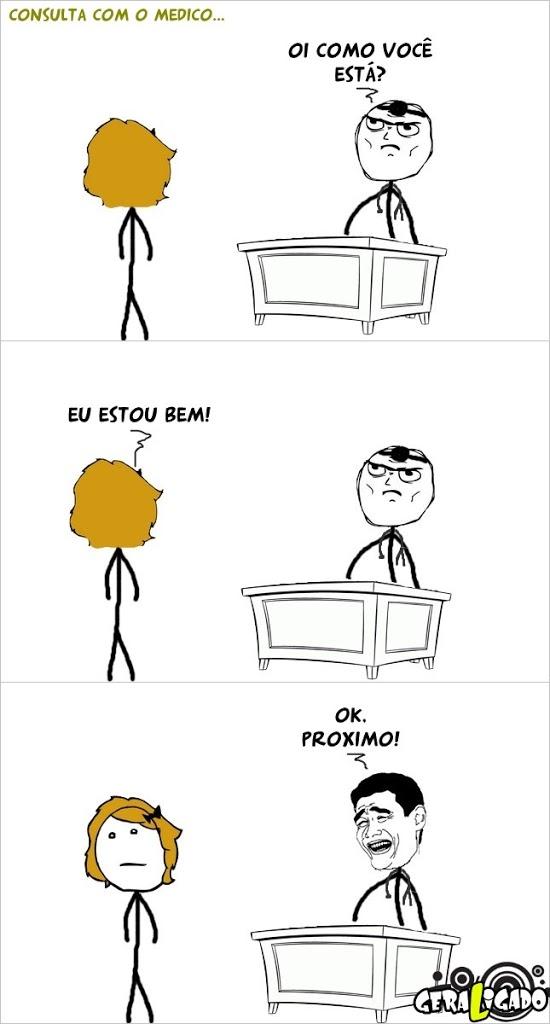 Como são os medicos no Brasil