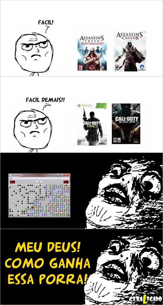 O jogo mais difícil da vida!