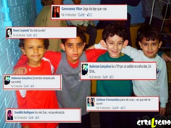 O bullying começa no facebook!
