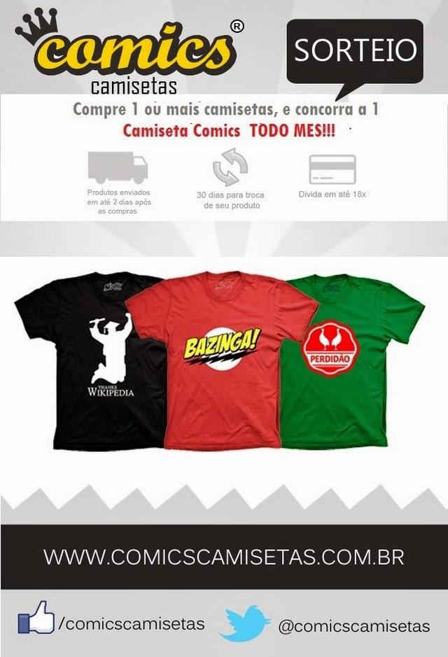 Comics camisetas - Passar o fim de ano com camiseta engraçada