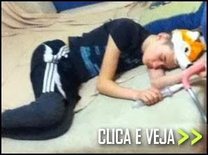 Nunca seja o primeiro a dormir na festa
