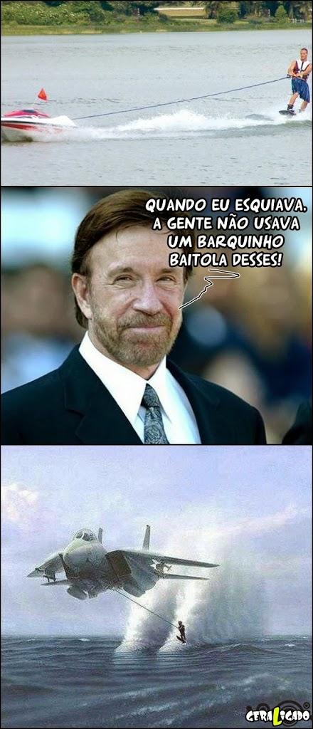 Chuck Norris é outro nível!