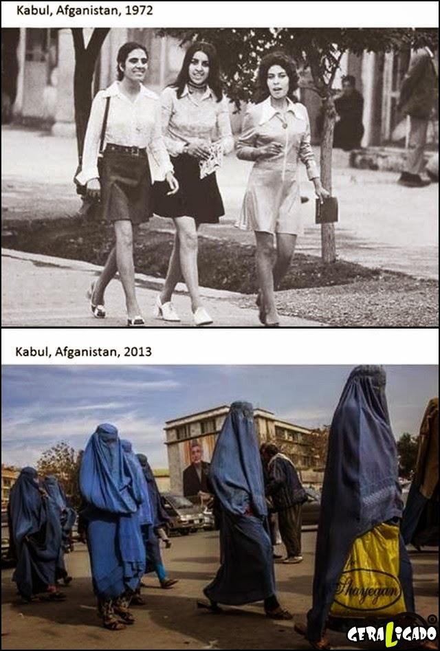 O mundo não evoluiu pra todos!