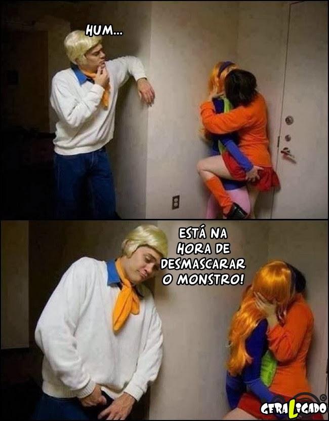 Existe uma parodia porno do Scooby doo!