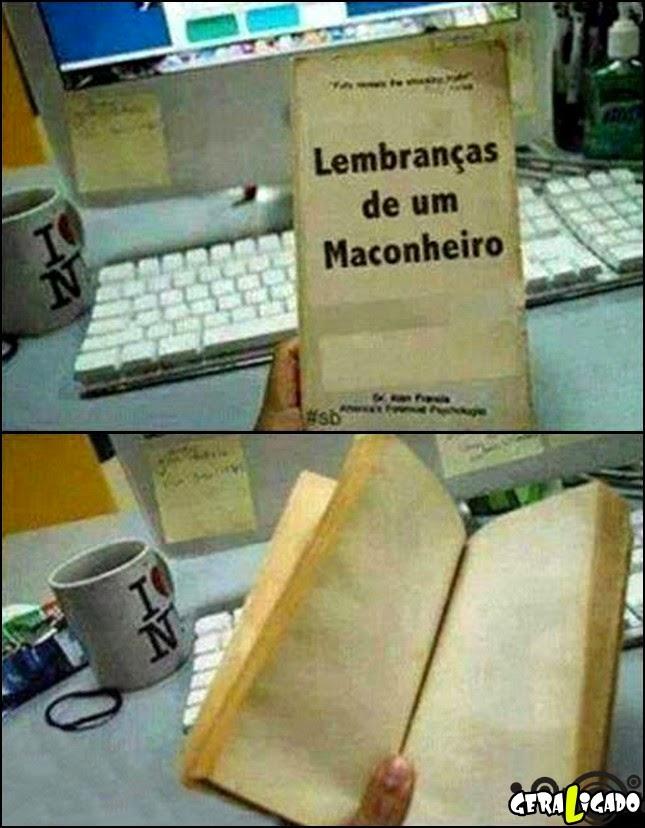 Livro do maconheiro!
