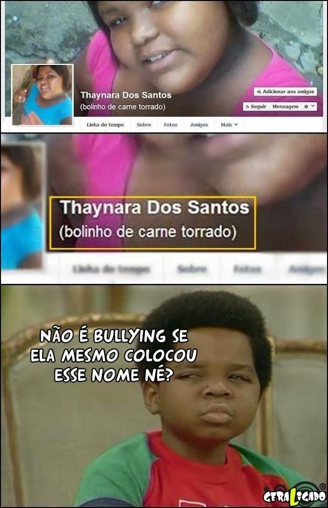 Assim não é bullying!