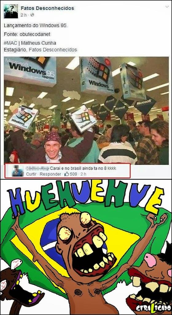 O brasil é atrasado demais!