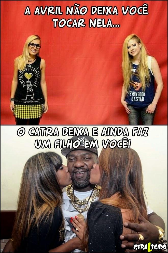 Ao contrario de Avril Lavigne...