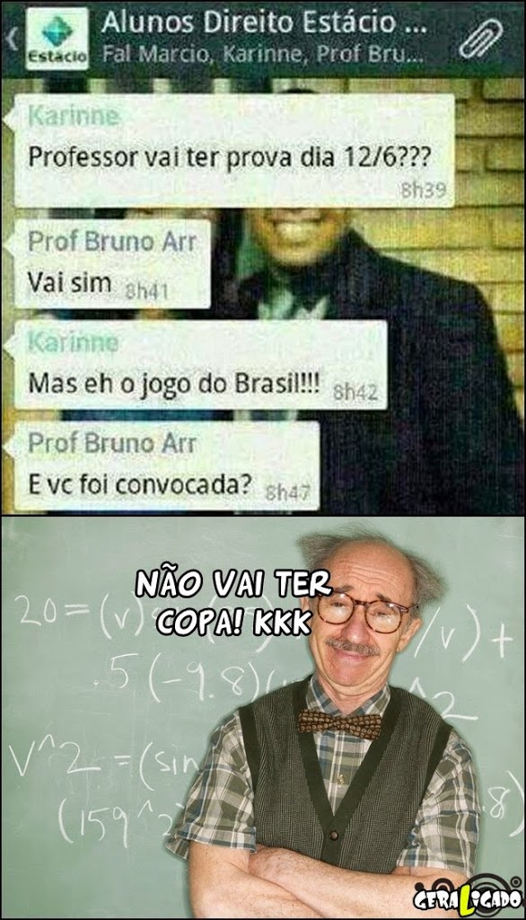 O professor mais FDP do mundo!