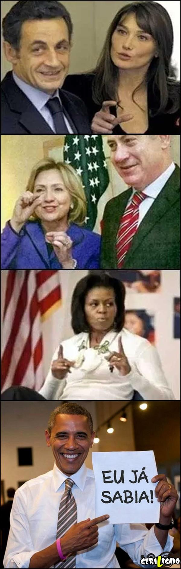 Qual o tamanho do pipiu dos presidentes segundo as esposas