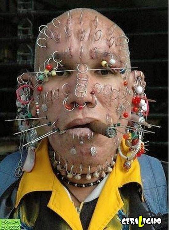 Essa gente é capaz de tudo! Veja as modificações corporais mais horripilantes do mundo!