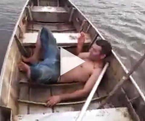 Bora dar um mergulho nesse rio!