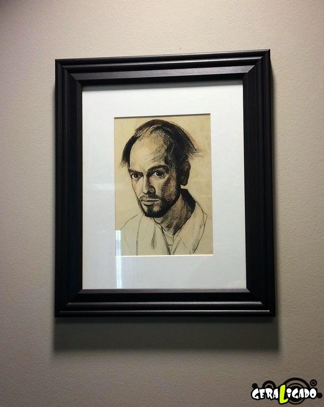 O artista e a evolução do mal de Alzheimer