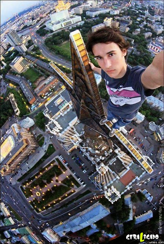 As selfies mais extremas já tiradas