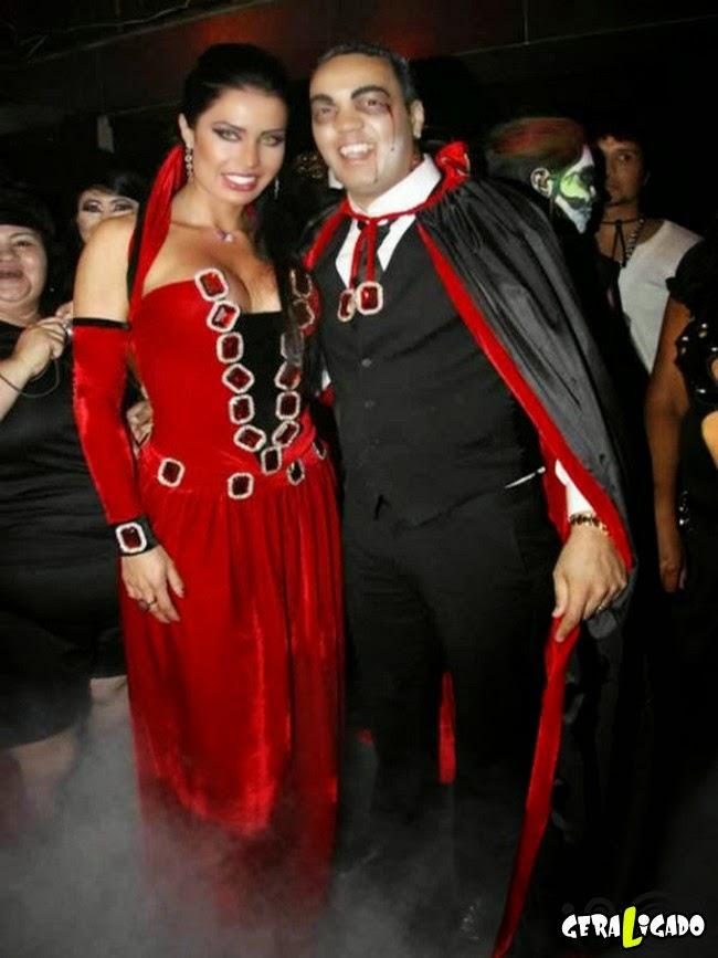 Fotos estranhas de famosos brasileiros