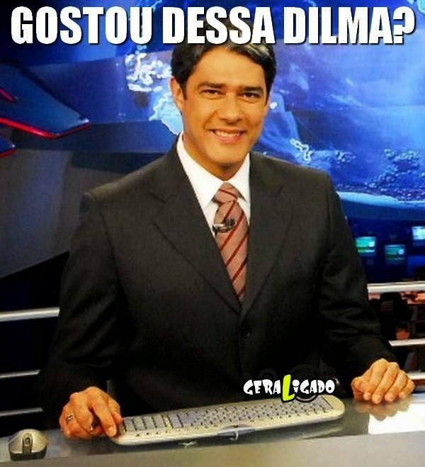Veja a polemica entrevista de Dilma Rousseff no Jornal Nacional!