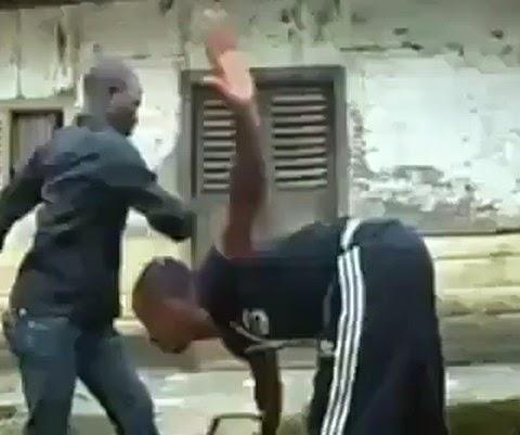 Malditos Ninjas Africanos mal posso prever seus movimentos