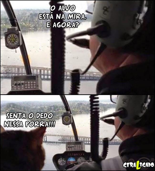 Co-piloto diferente