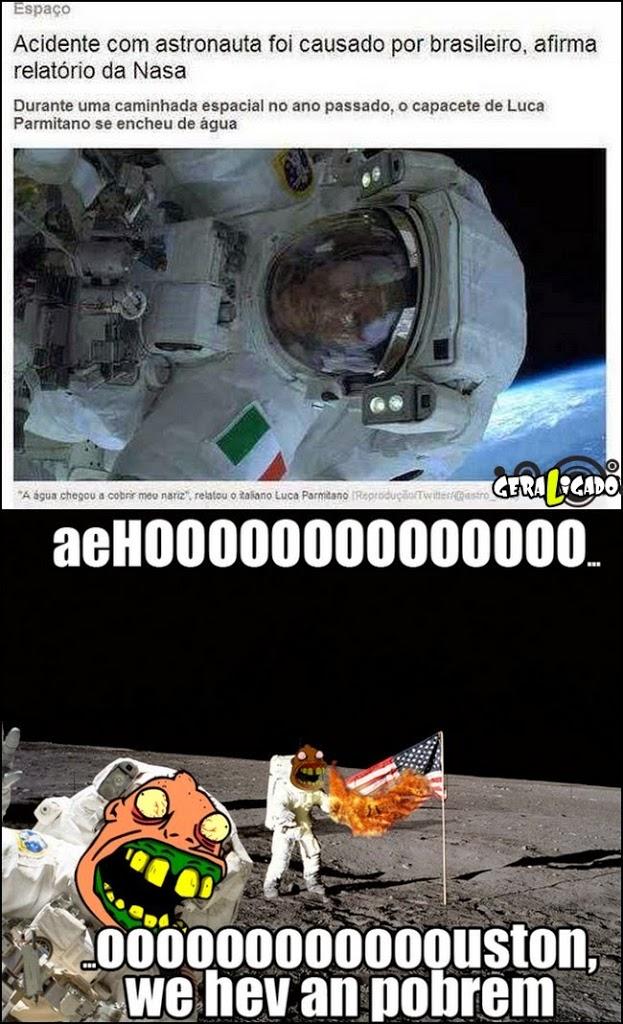 Os BR estão até no espaço