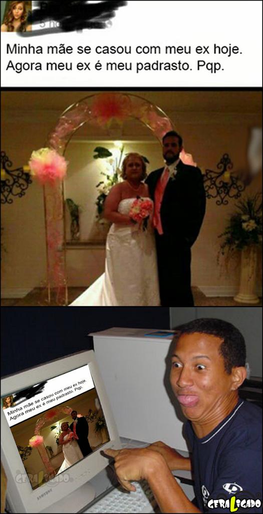 Minha mãe casou com meu ex