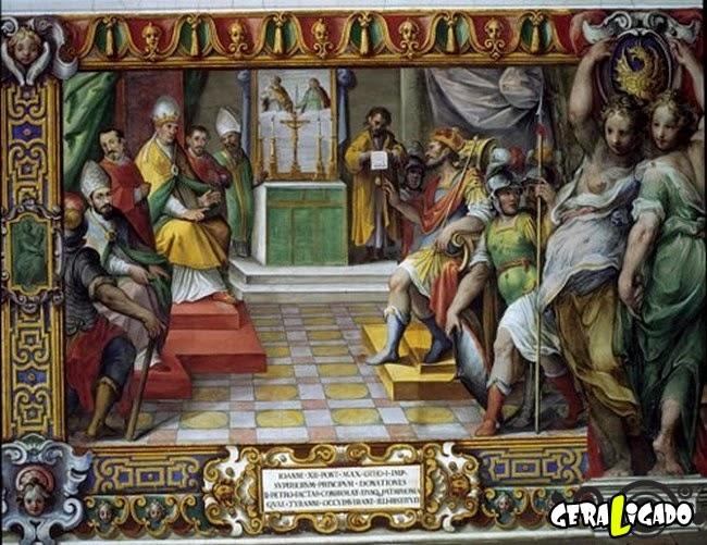 Os 8 papas mais malvados da História