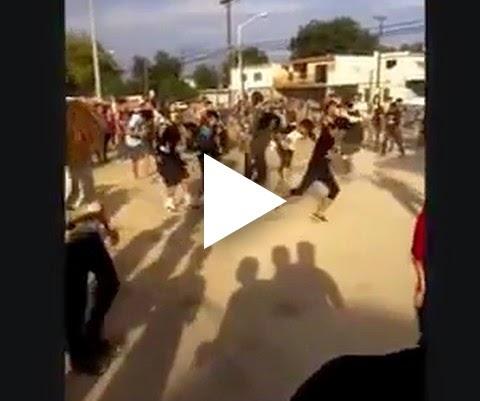 Com é uma Roda punk no México!