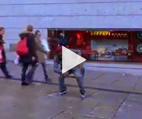 Você acha que sabe dançar, até ver esse video!