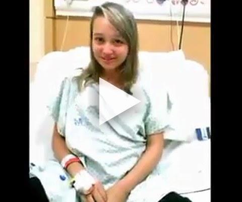 Depoimento emocionante de uma menina com doença rara!