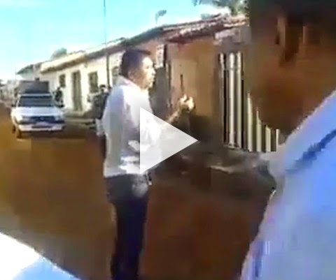 MORADORES EXPULSAM POLÍTICO VAGABUNDO!