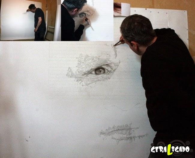 Parecem fotos, mas são desenhos incríveis