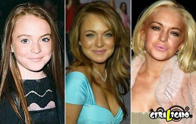 O tempo também passa para as celebridades