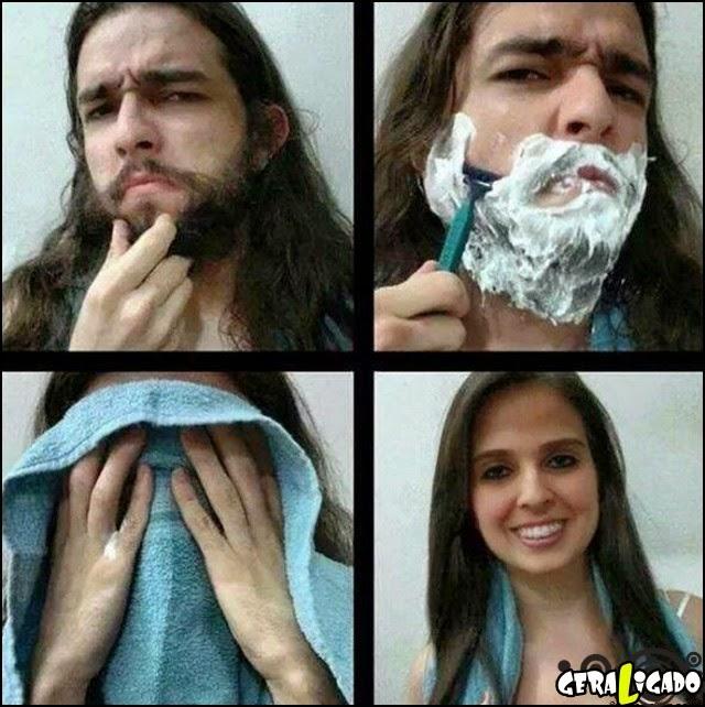Tirando a barba