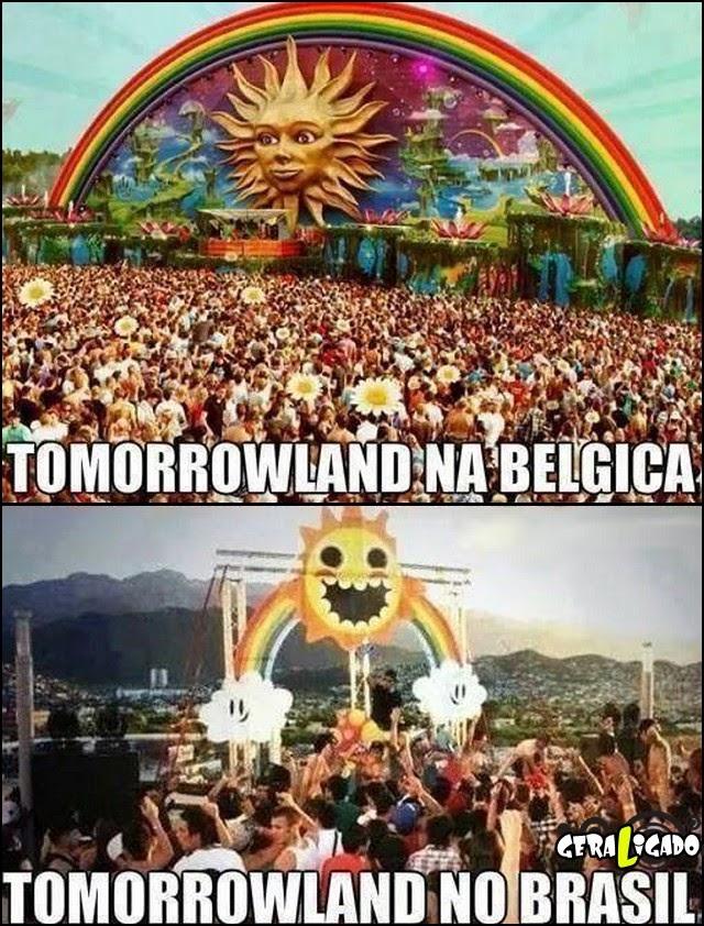 Tomorrowland no brasil vai ser louco