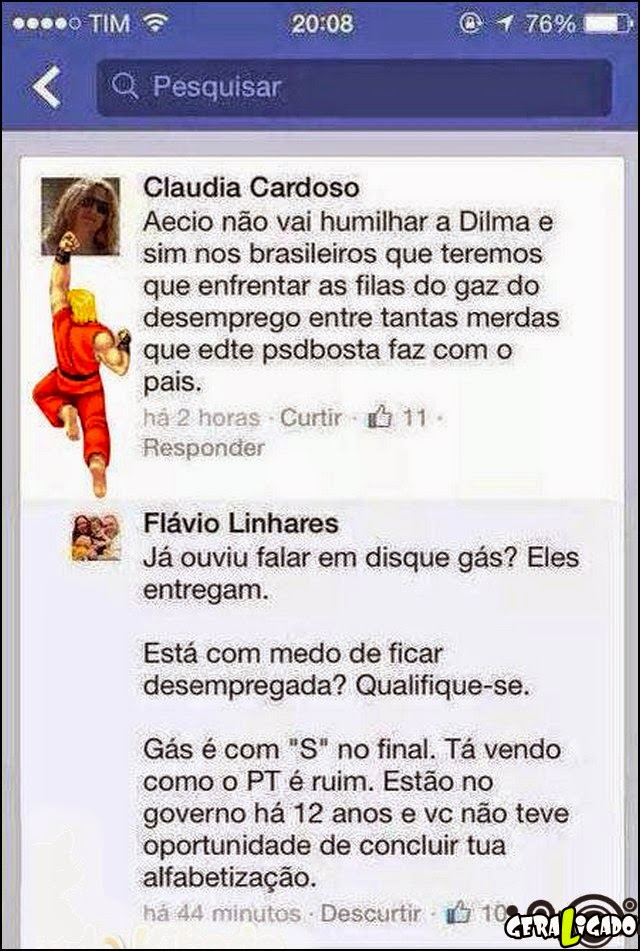 Motivo para não votar na Dilma!