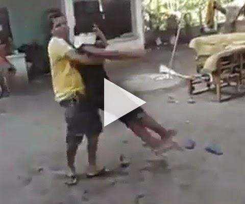 Brincar de cabra-cega pode ser uma péssima ideia!