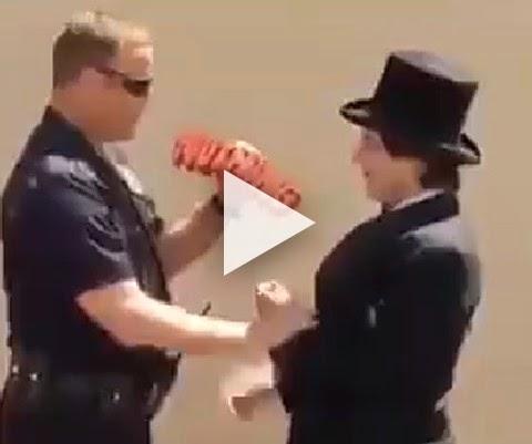 Magico incrível trollando o seu puliça!