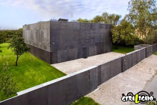 A primeira casa à prova de zumbis do mundo