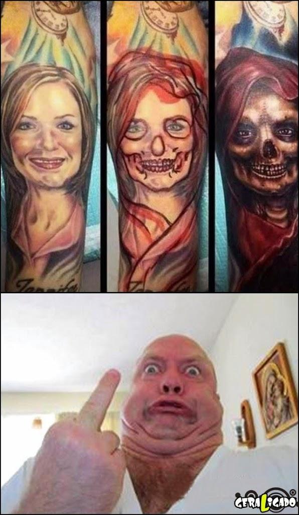 O que fazer com a tatuagem da ex!