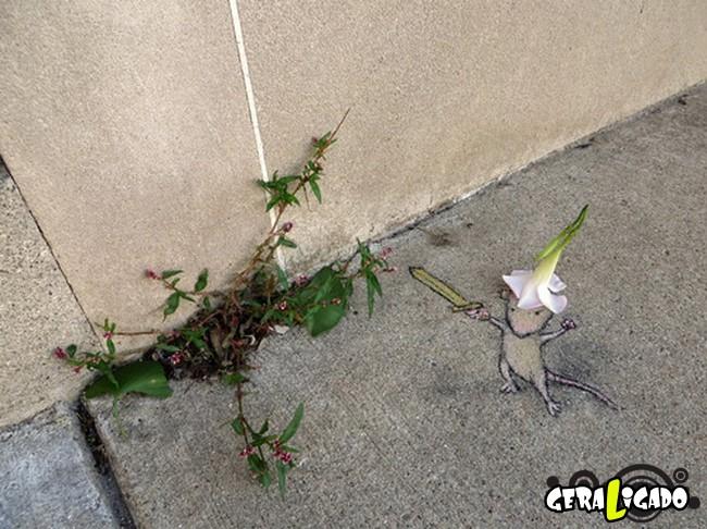 As mais criativas artes de rua