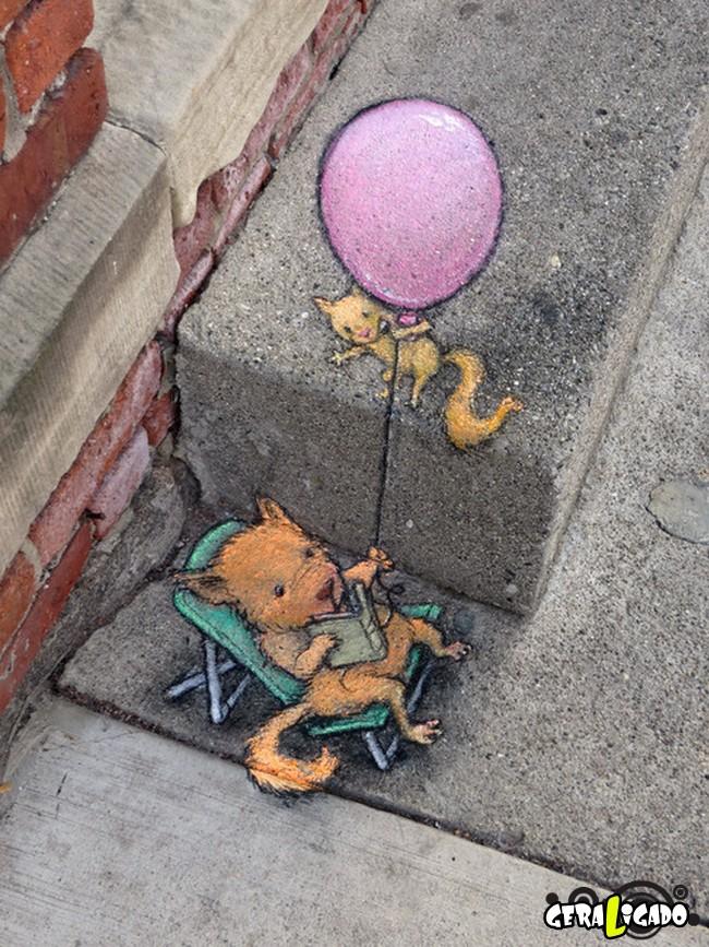 As mais criativas  artes de rua1