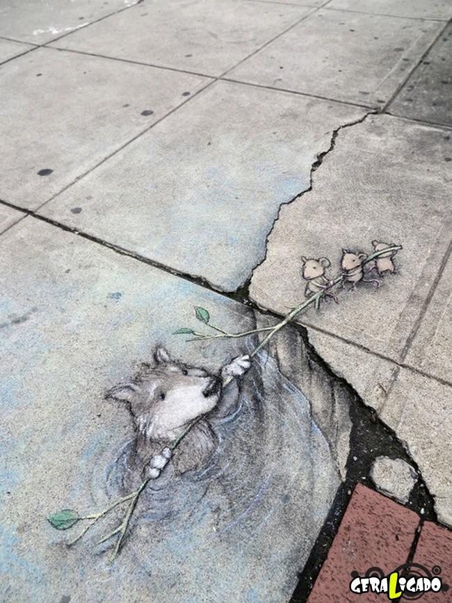 As mais criativas  artes de rua4