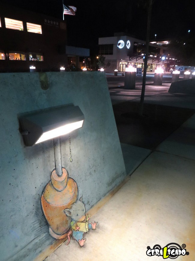 As mais criativas  artes de rua6