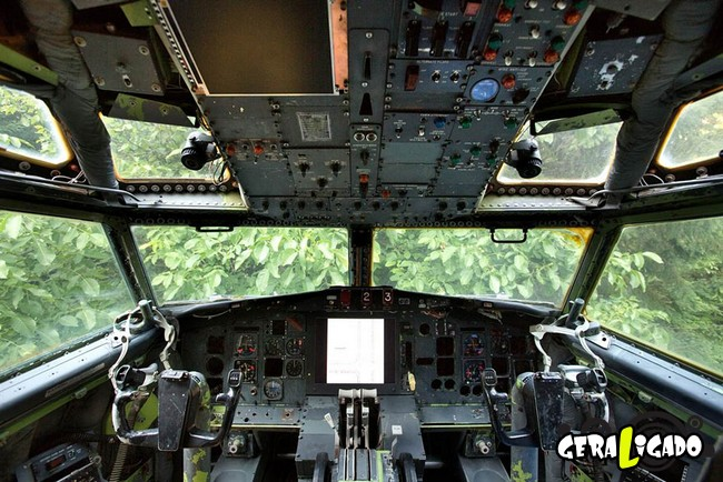 Você teria coragem de morar dentro de um avião 4
