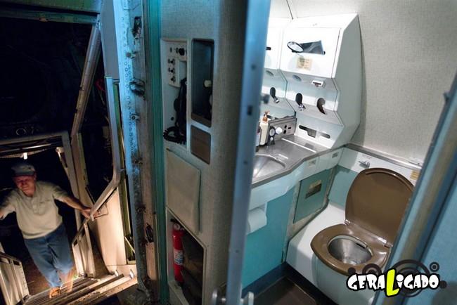 Você teria coragem de morar dentro de um avião velho5