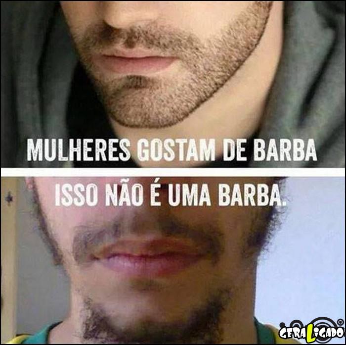 2 Mulheres gostam de homens com barba
