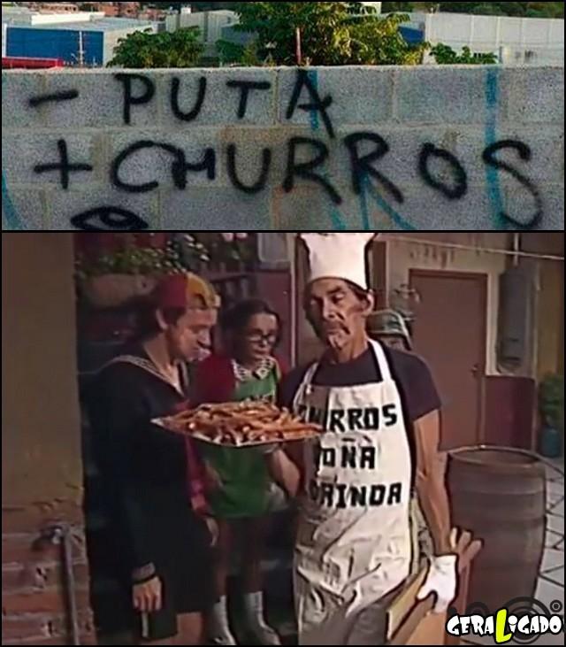 4 - puta + churros