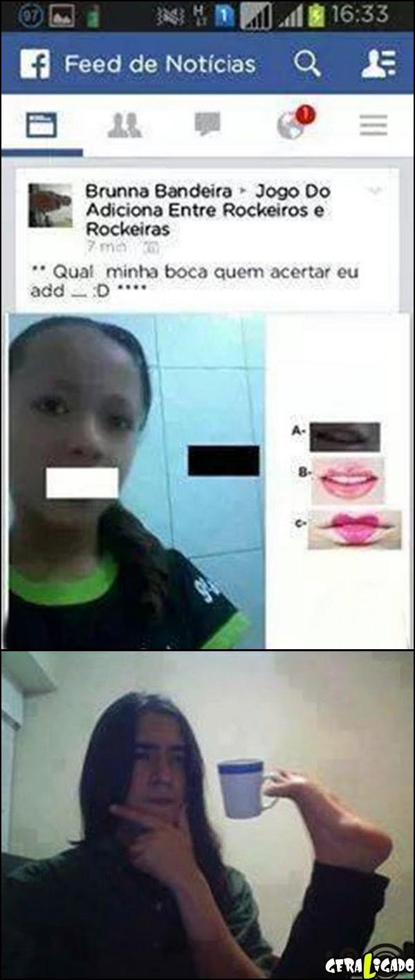 7 Qual é a boca dela