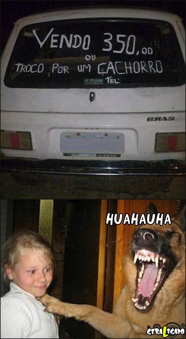 8 Ele aceita troca por esse carro