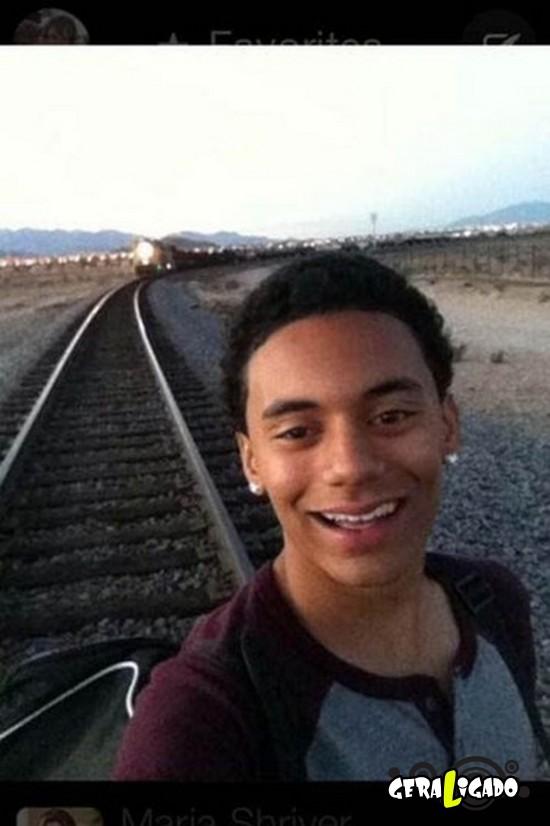 As  piores selfies de 2014.27