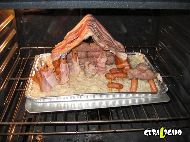 Coisas bizarras feitas com carne15